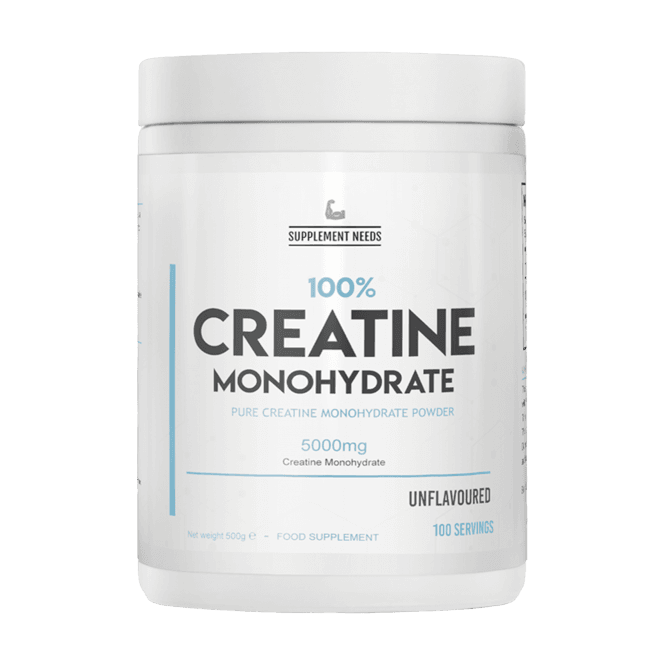 Supplement Needs Creatine Monohydrate 500g
