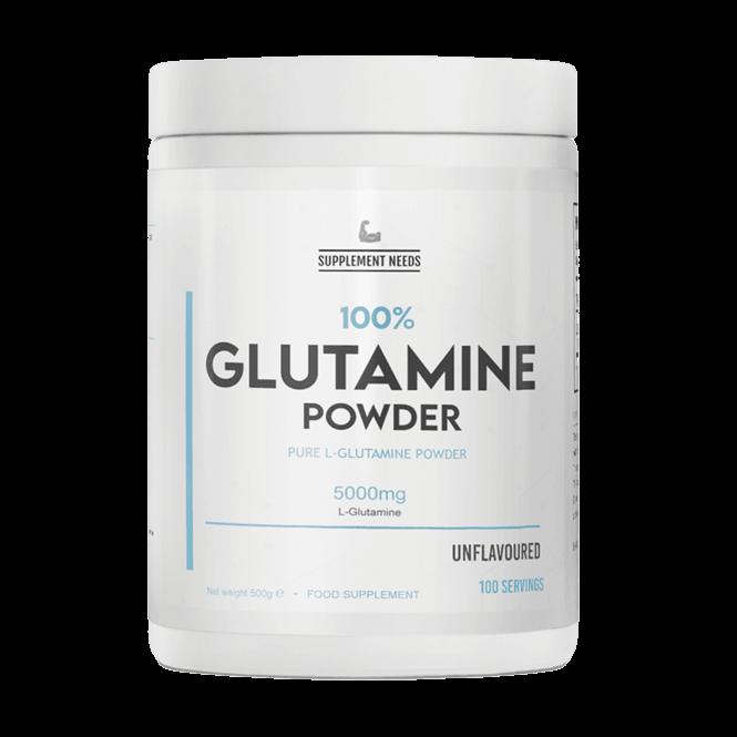 Supplement Needs Glutamine 500g