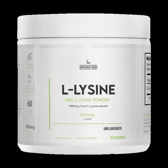 Supplement Needs L-Lysine 300g