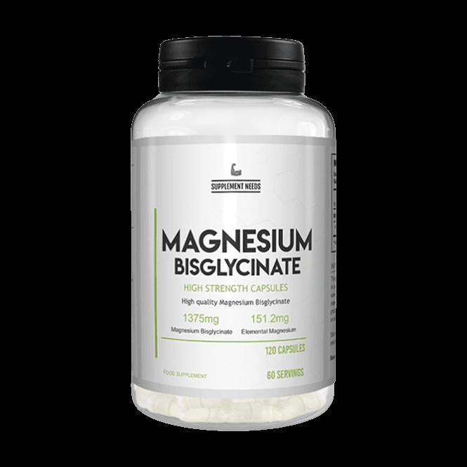 Supplement Needs Magnesium Bisglycinate 120 Capsules