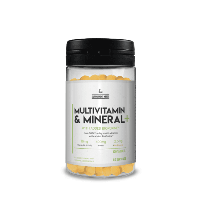 Supplement Needs Multi Vitamin and Mineral+ 120 Tablets