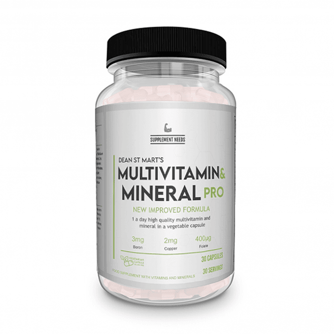 Supplement Needs Multi Vitamin and Mineral+ 30 Tablets