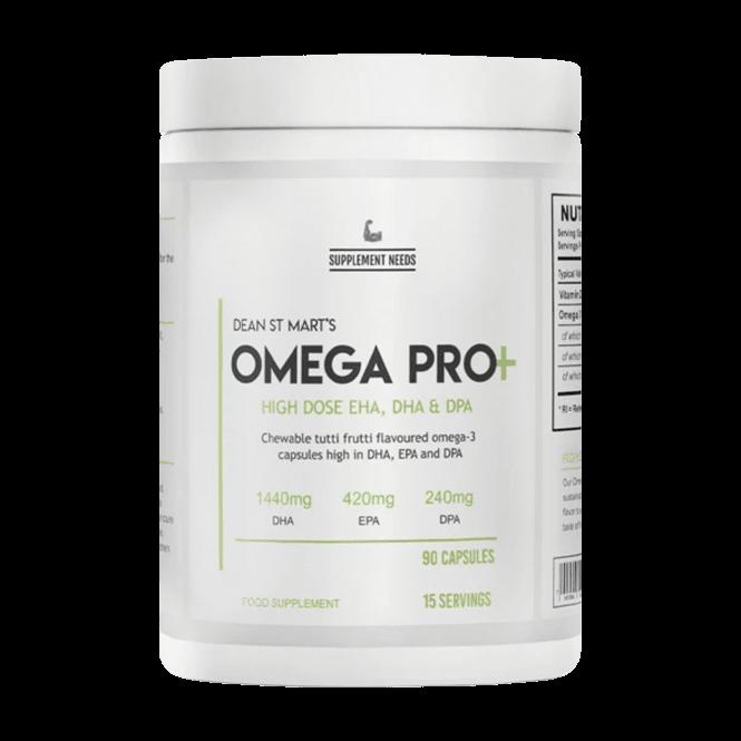 Supplement Needs Omega 3 Pro+ 90caps