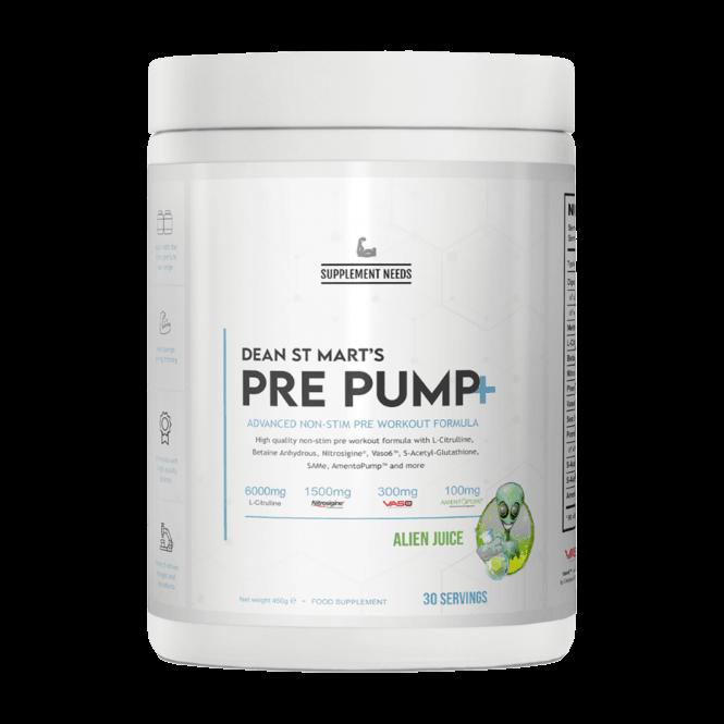 Supplement Needs Pre Pump+ 30 Servings
