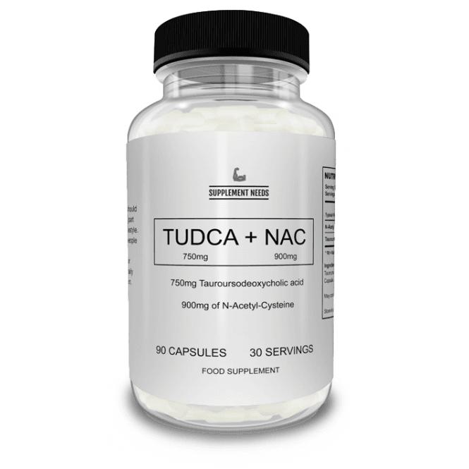Supplement Needs TUDCA + NAC 90 Caps