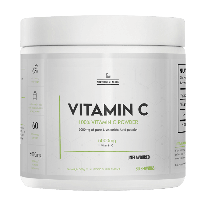 Supplement Needs Vitamin C 300g