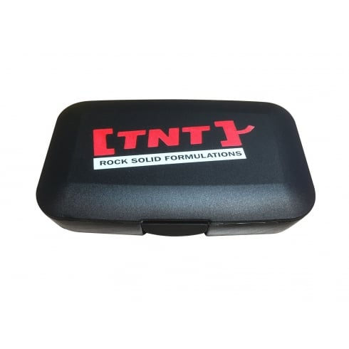 TNT Pill Box Black/Red