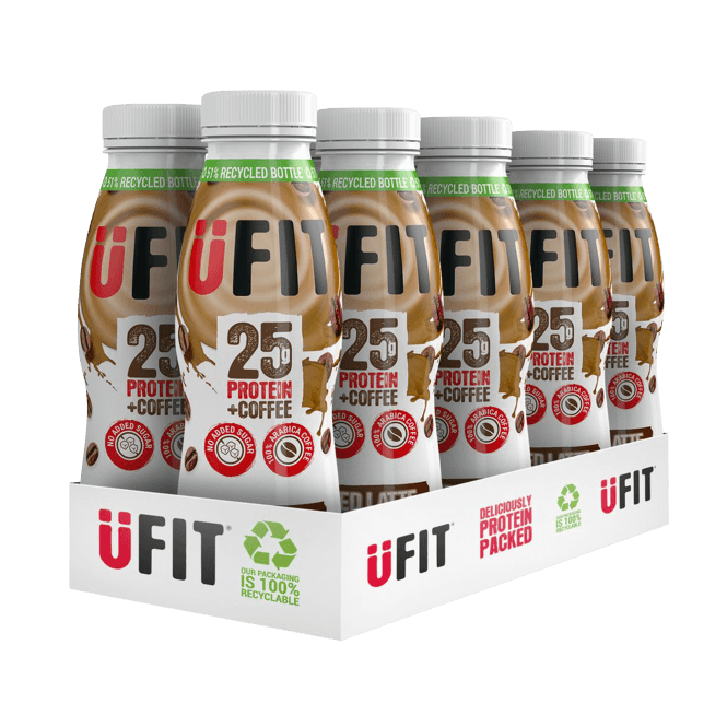 UFIT 25g High Protein Shake 10 x 330ml
