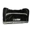 USN Gym Bag Black/White