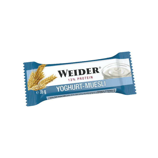 Weider Fitness Bar 24x35g (SHORT DATED)