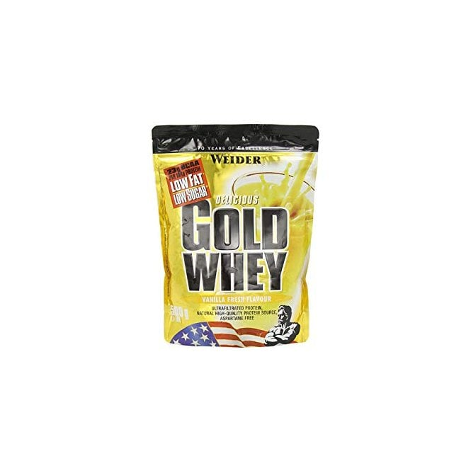 Weider Gold Whey 10 Bags X 500G